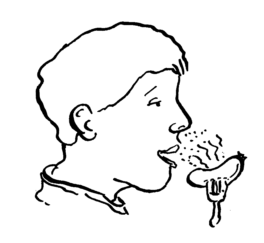 885x814 Taste And Sense Of Smell Clipart