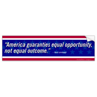 324x324 Equal Opportunity Bumper Stickers