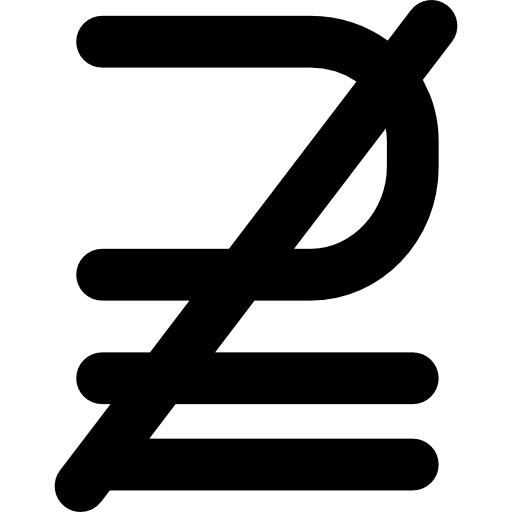 512x512 Mathematics Symbol, Superset Of Above Not Equal To Symbol, Signs