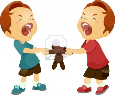 400x330 Kids Not Sharing Clipart