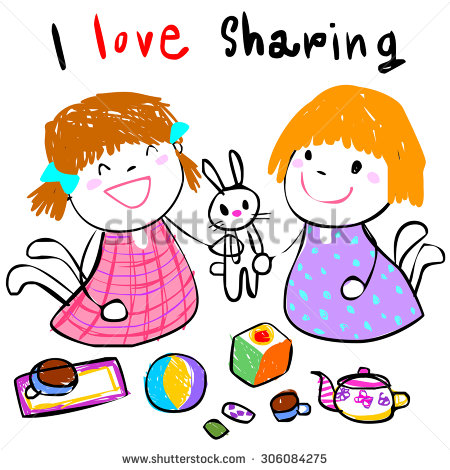 450x470 Sharing Toys