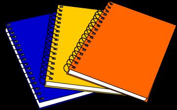 361x225 Notebook Clipart School Notebook