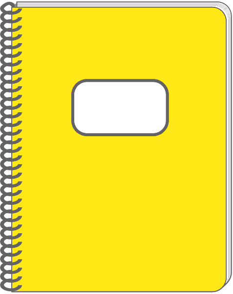 477x600 Notebook Of Coils Clipart