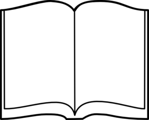 298x240 Reading Notebook Clipart