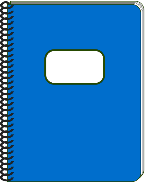 477x600 Cover clipart notebook