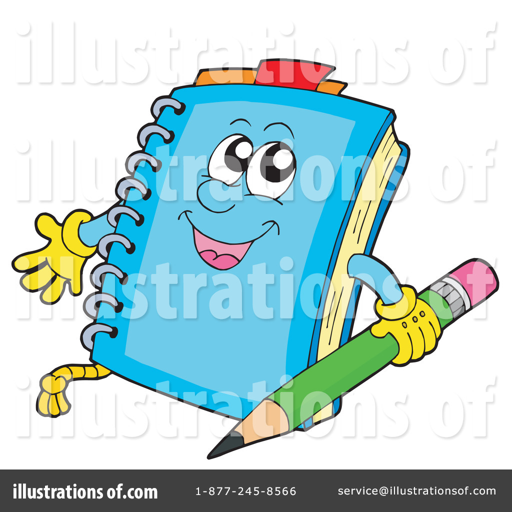 1024x1024 Notebook clipart cartoon