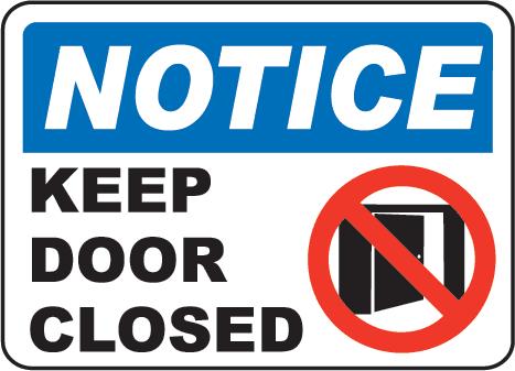 467x337 Image Of Closed Door Clipart