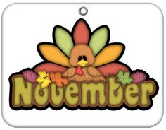 236x184 November Calendar Clip Art