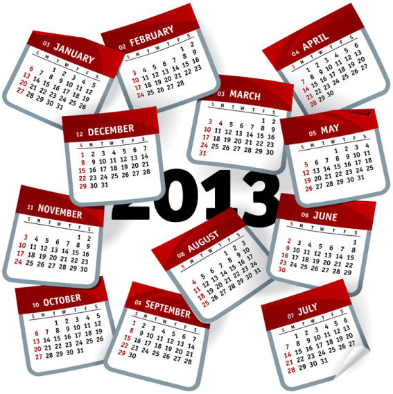 567x568 Vector Creative Calendar Free Vector Download (14,646 Free Vector
