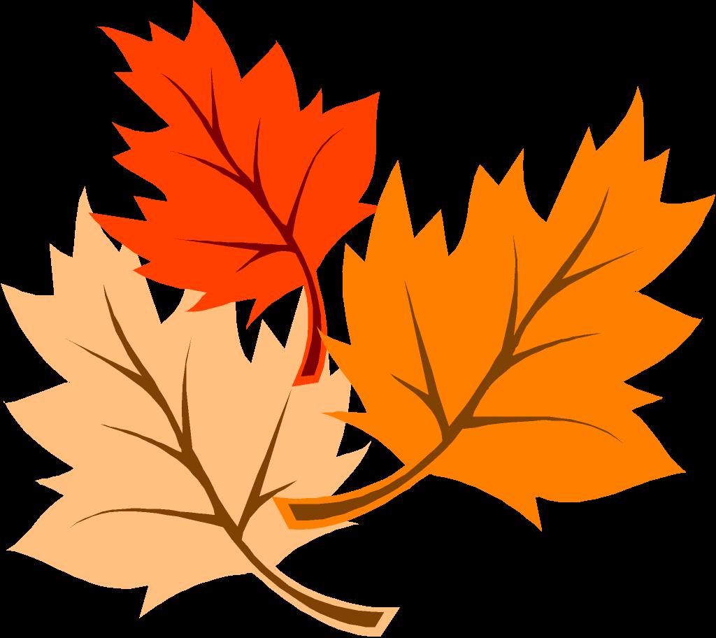 1024x912 November Leaves Clip Art Image
