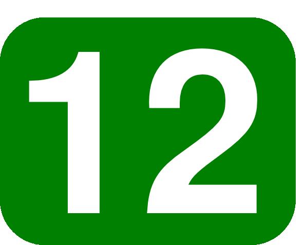 594x477 Number 12 Clip Art