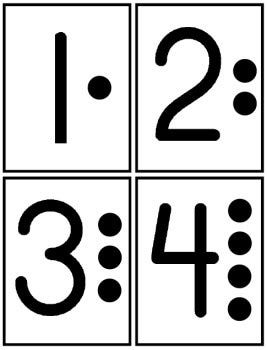 267x350 Preschool Numbers Clipart Number 1 With Dot