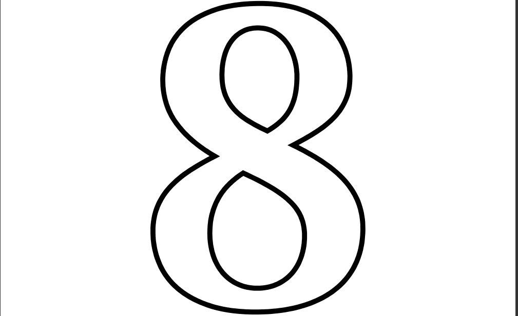 Number 2 Clipart Black And White | Free download best Number 2 ...