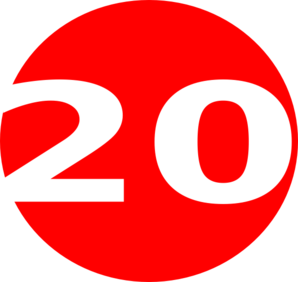 298x282 Glossy Red Circle Icon With 20 Clip Art