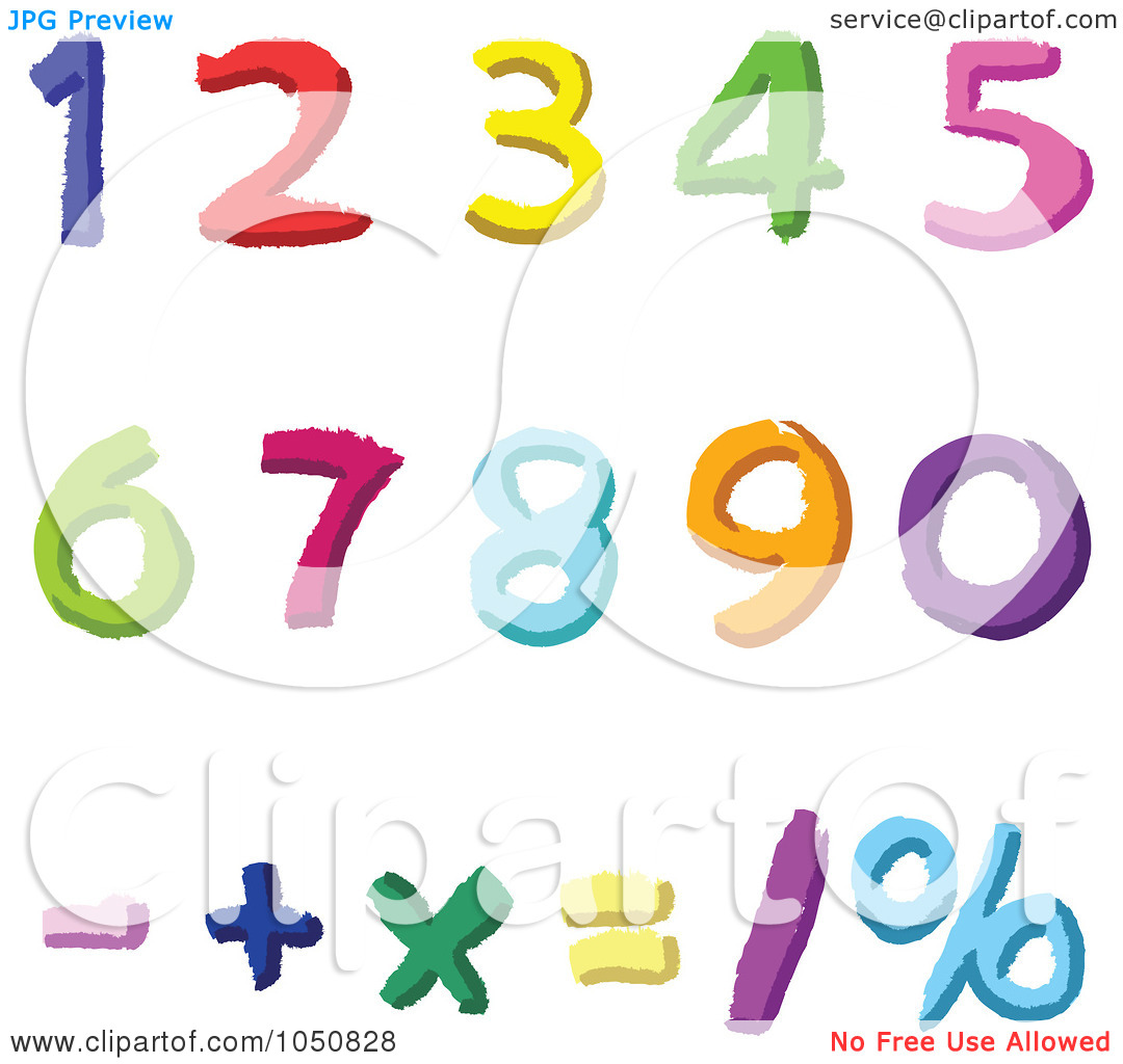1080x1024 Number Clipart Digits