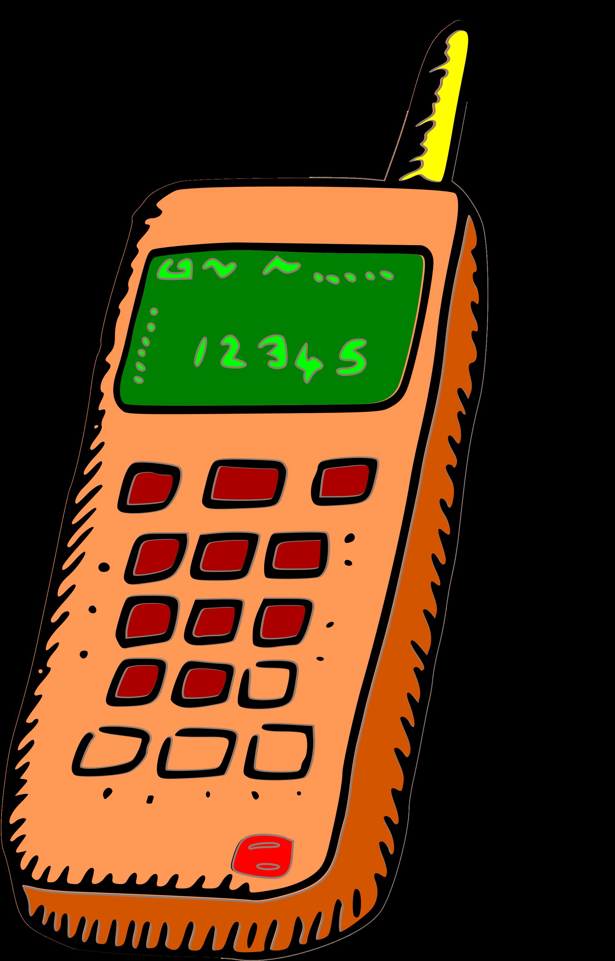 2000x3124 Clipart Cell Phone 101 Clip Art