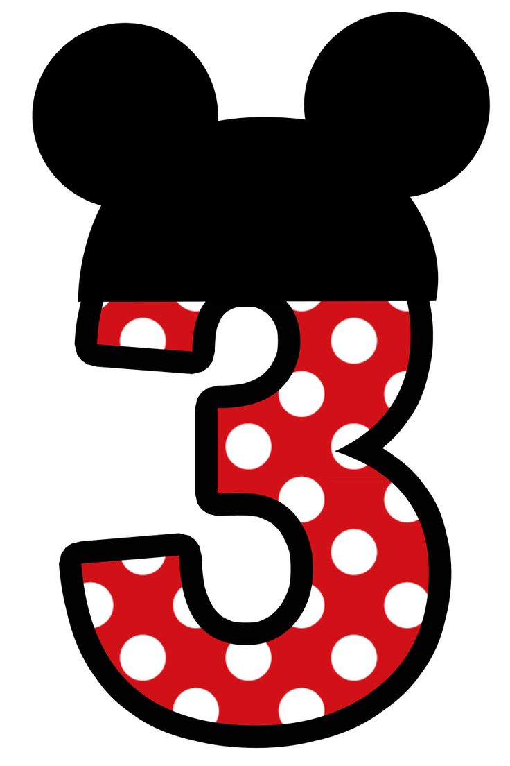 Number 3 Clipart
