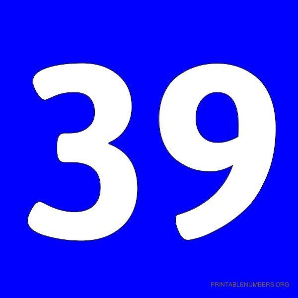 600x600 Printable Numbers 1 50 Blue Printable Numbers Org