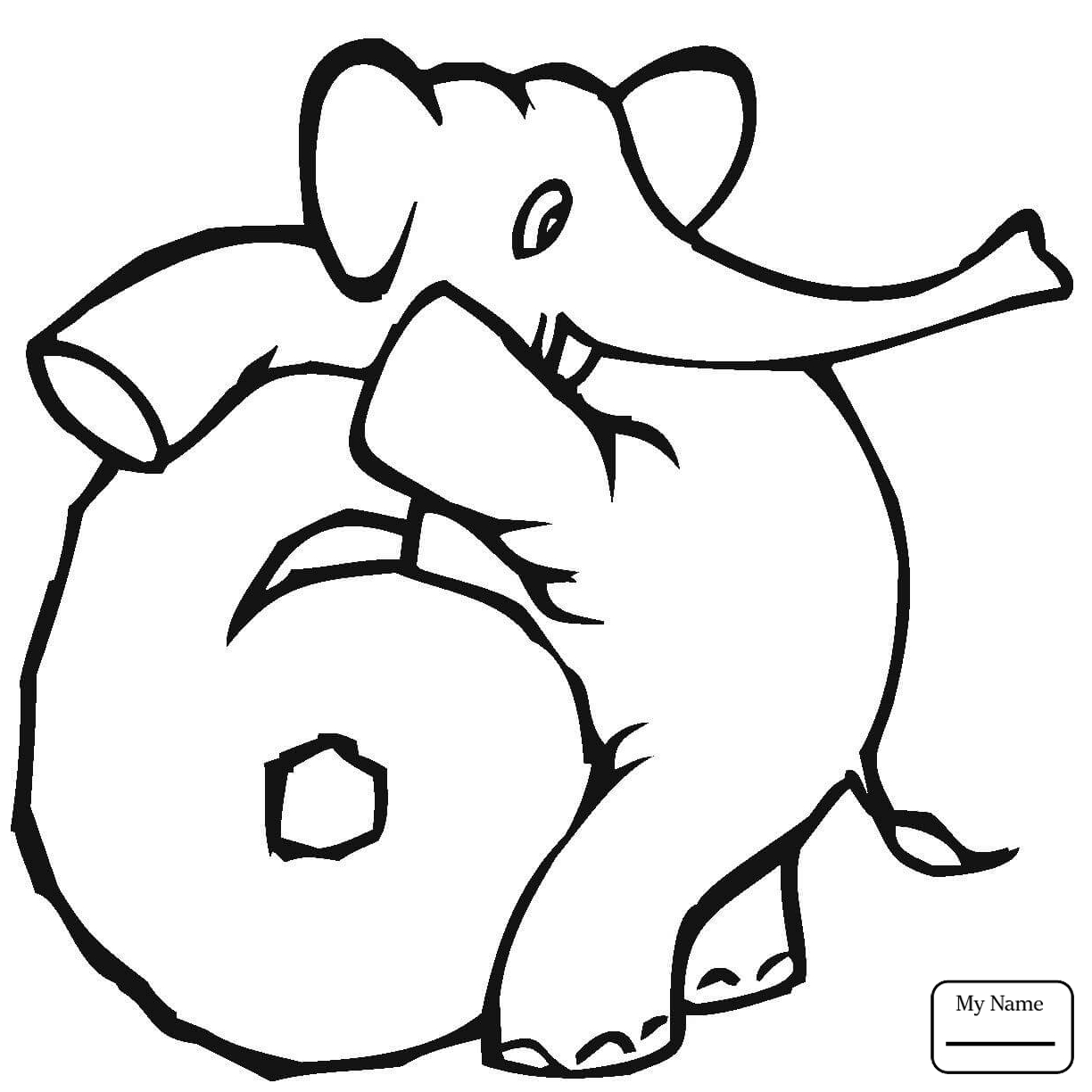 1224x1224 science education number 0 numbers 0 9 with elephants coloring