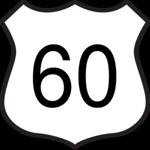 300x300 Highway 60 Clip Art