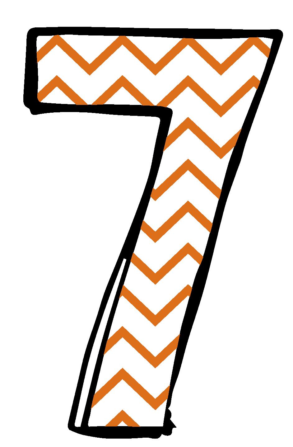 942x1436 Number 7 Clip Art Cliparts