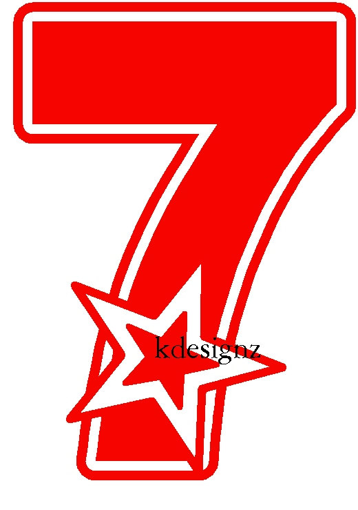 520x739 Number Clipart 7th