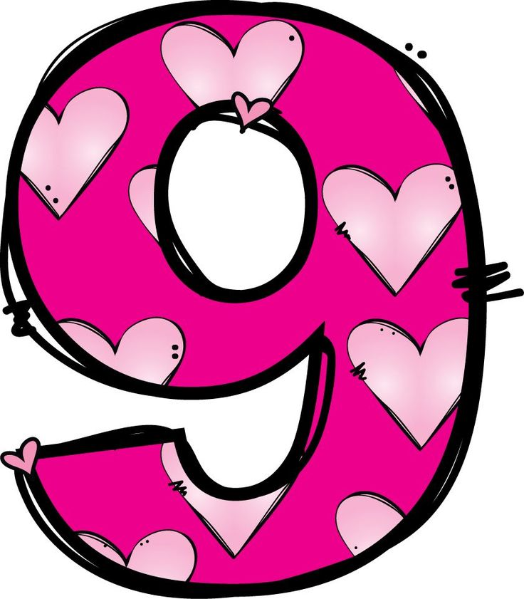 Number 9 Clipart