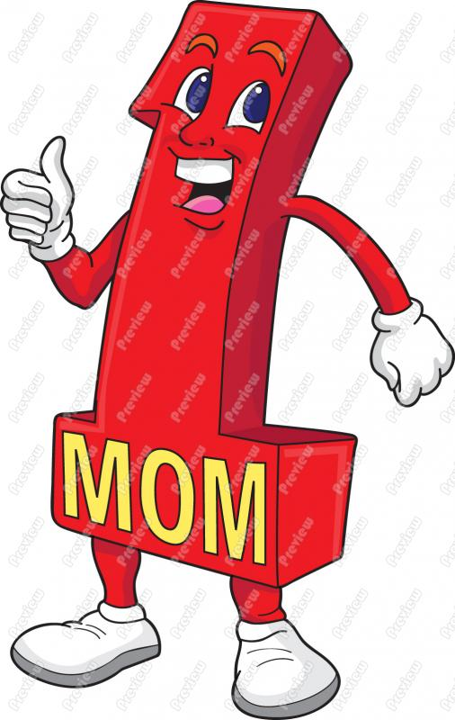 506x800 Number One Mom Clip Art