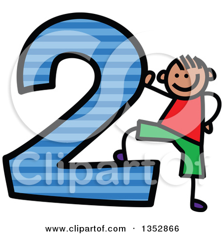 450x470 Striped Number 1 Clipart