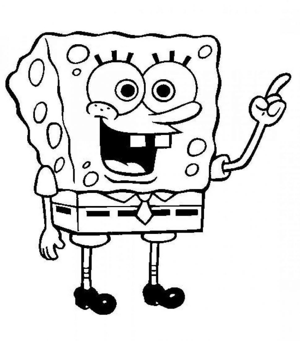 970x1101 Film Spongebob Grown Up Coloring Book Free Coloring Pages