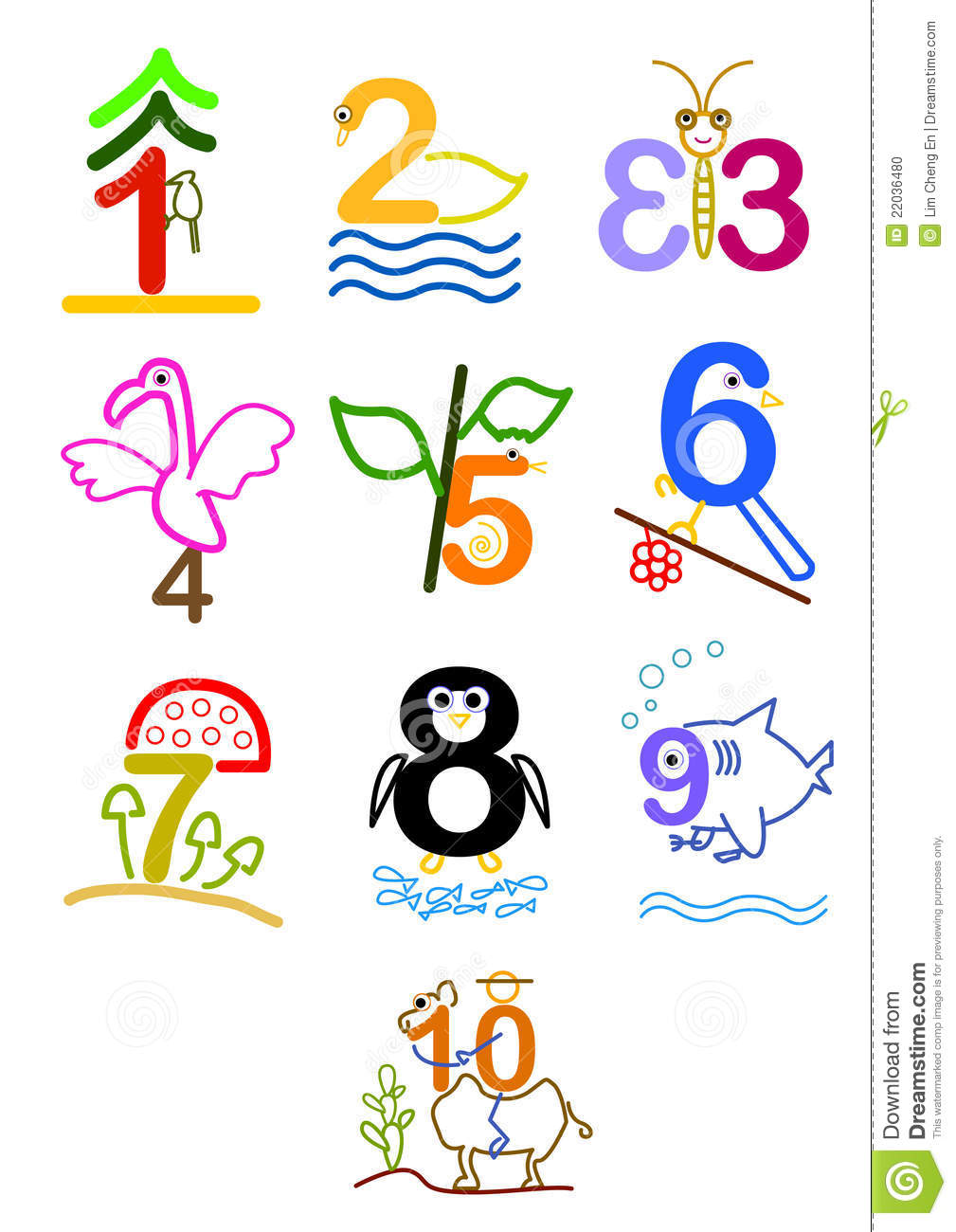 1009x1300 Clipart Of Numbers 1 10