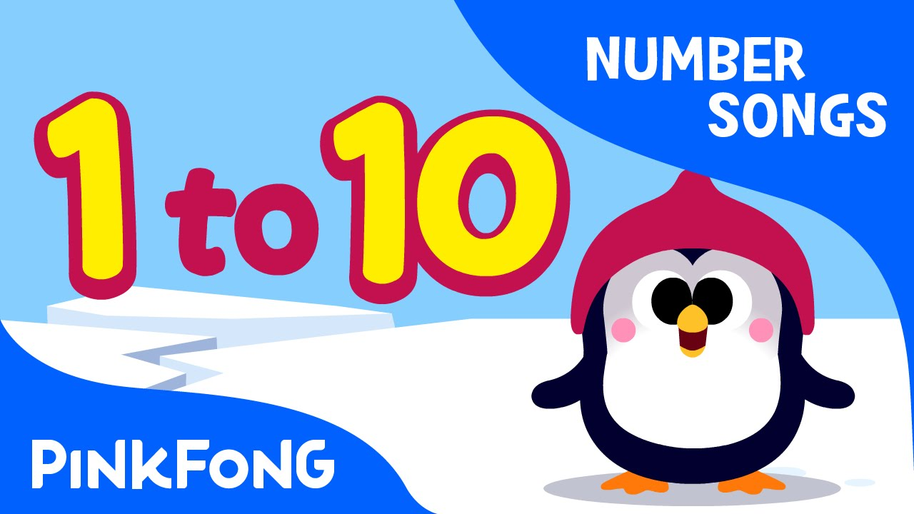 1280x720 Counting 1 to 10 Number Songs PINKFONG Songs for Children