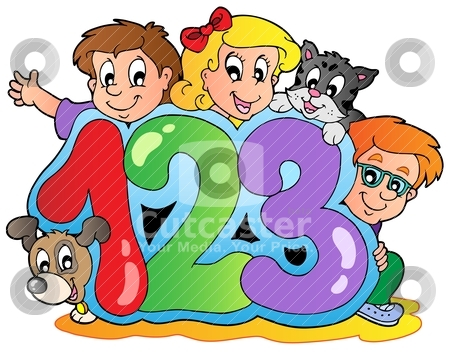 450x352 Numbers Clipart For Kids Clipart Panda
