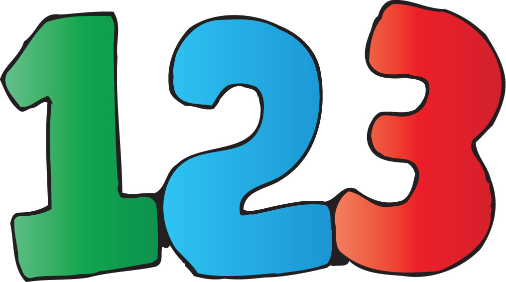 1016x566 Numbers Clipart