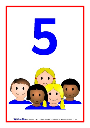 302x427 Printable Number Posters and Friezes for Primary School