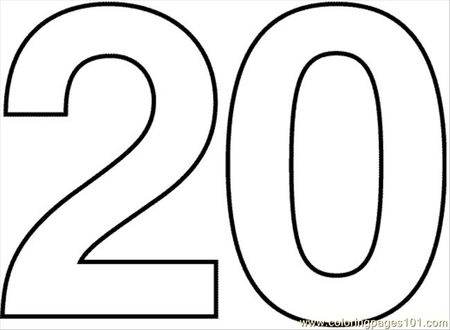 650x477 Number 20 Clipart