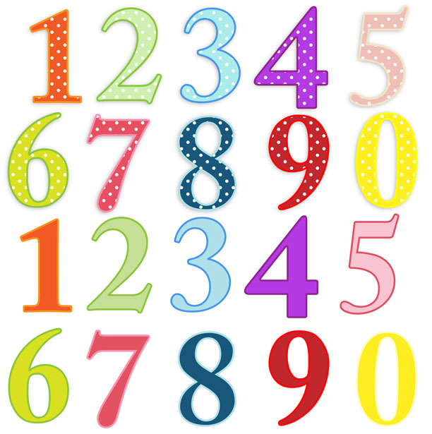 612x615 Number Clip Art