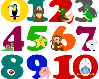 340x270 Number Clip Art