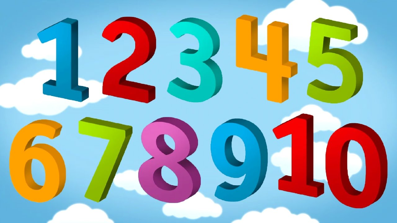 1280x720 Tallytots 123 Numbers 1 To 20 Learn To Count 1 20 Educational