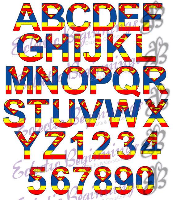 570x646 Alphabet And Numbers Png Digital File Diy Print Clip