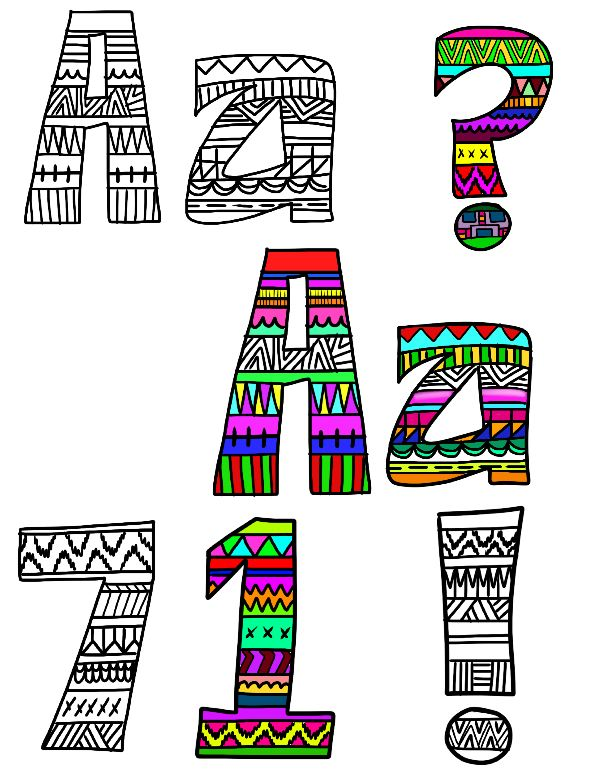 594x774 Coloring Pages Printable. Excellent Fun Letters To Print