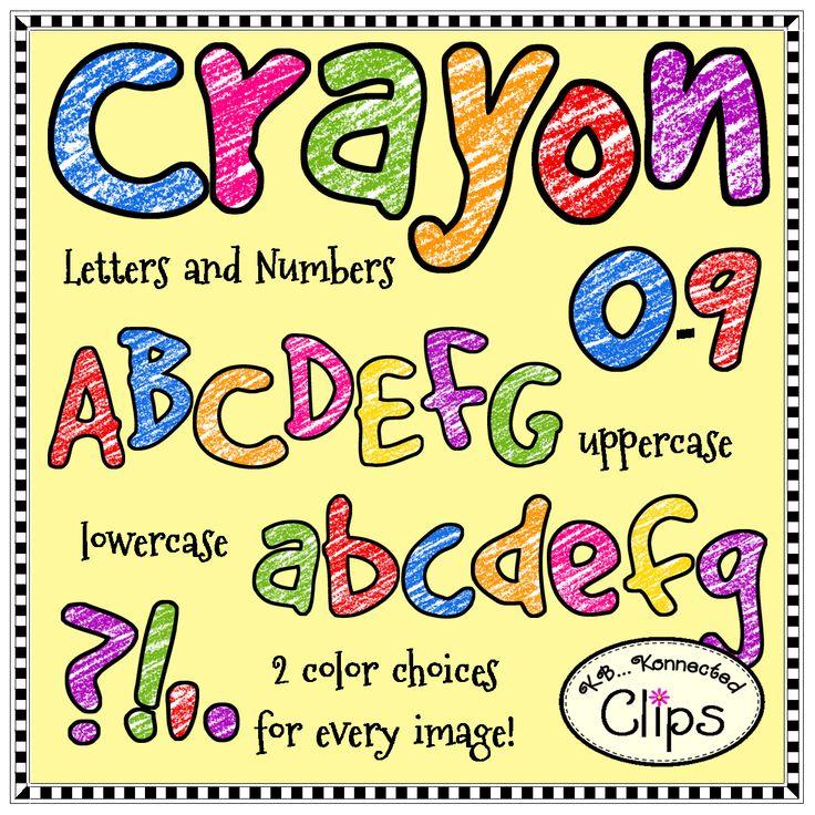 736x736 Crayon Clipart Alphabet