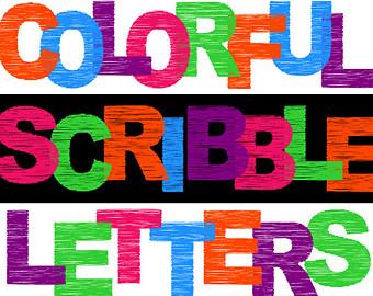 340x270 Digital Alphabet Letters Clipart Animal Print Zoo