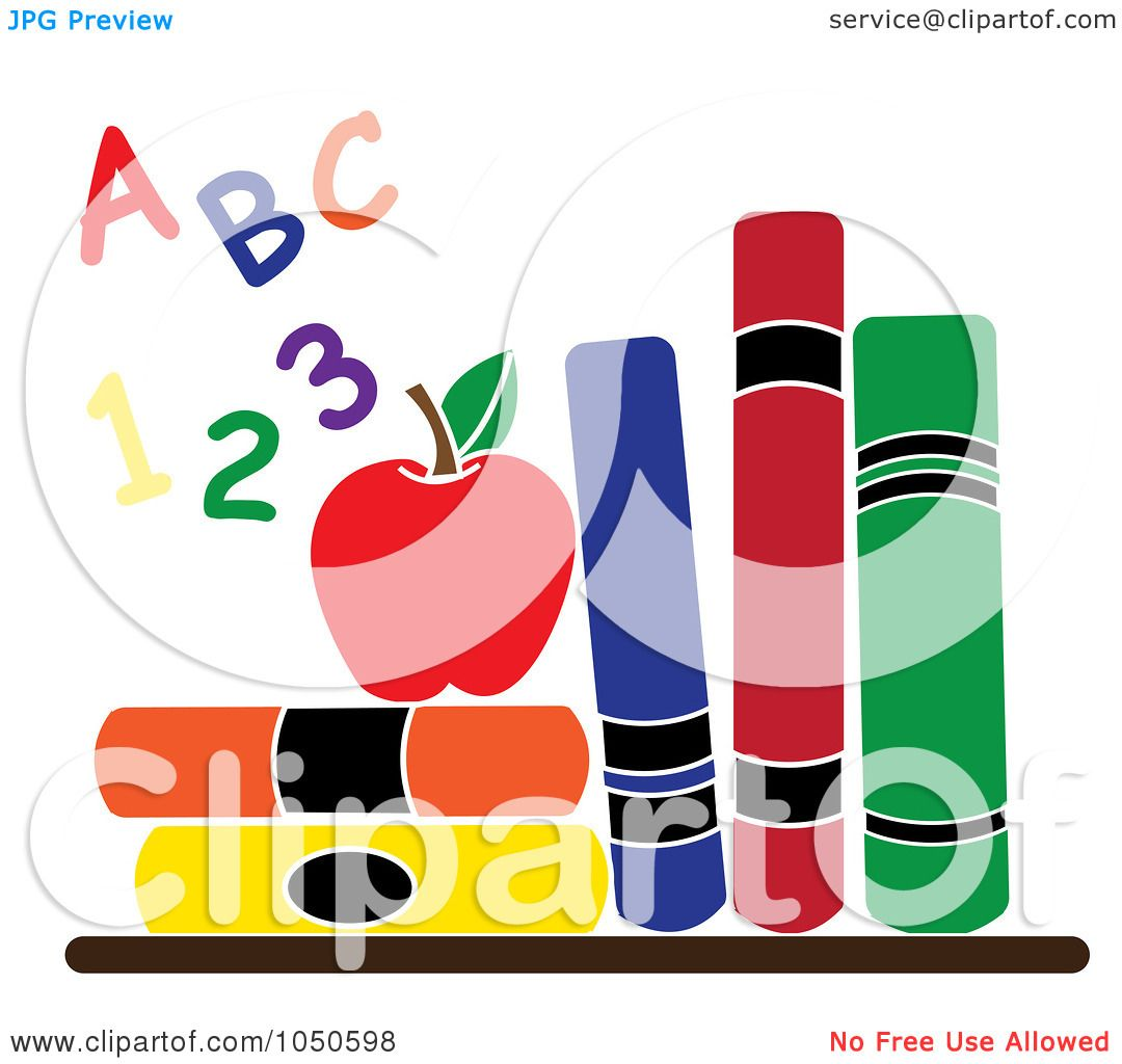 1080x1024 Royalty Free (Rf) Clip Art Illustration Of Colorful Letters