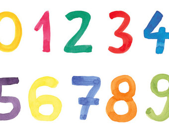 340x270 Numbers Clip Art Etsy Studio