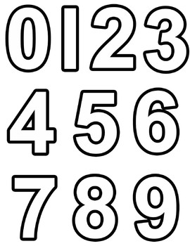 270x350 Clipart Numbers And Maths Symbols Clip Art For Teachers Tpt