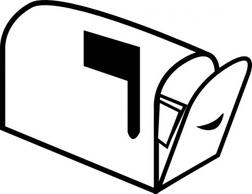 252x194 Mailbox With Numbers Clip Art Cliparts