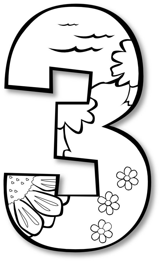 555x902 Number Clipart Creation Story