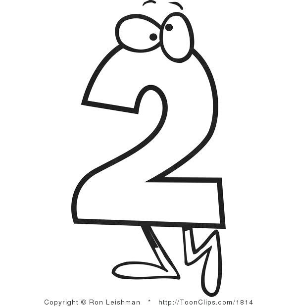 Numbers Clipart Black