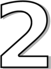 169x227 Number 2 Clipart Black And White